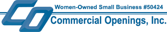 Commercial Openings, inc Logo